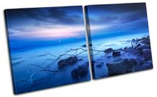 Beautiful Sunset Seascape - 13-1380(00B)-MP03-LO